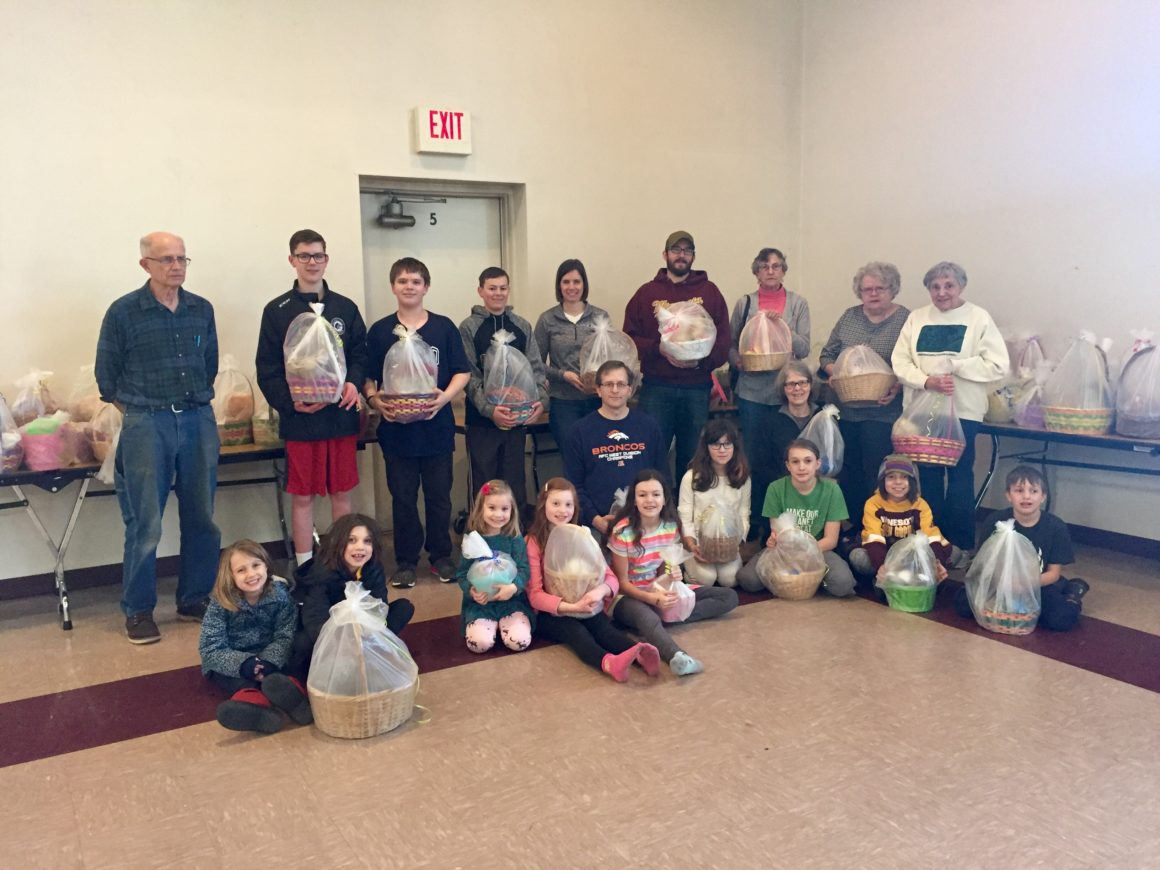 Service Saturday: Easter Baskets